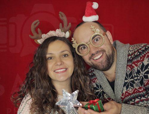 Cabina Foto pentru Petrecerea de Crăciun?